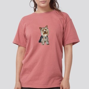 Silky Terrier (cpol1) Womens Comfort Colors Shirt
