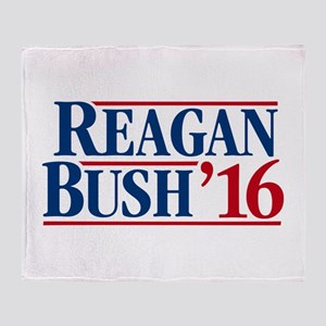 Reagan - Bush '16 Throw Blanket