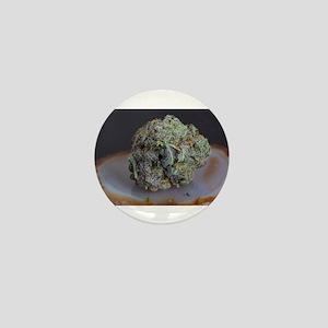 Grape Ape Medicinal Marijuana Mini Button