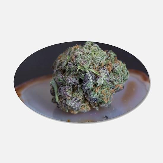 Grape Ape Medicinal Marijuana Wall Decal