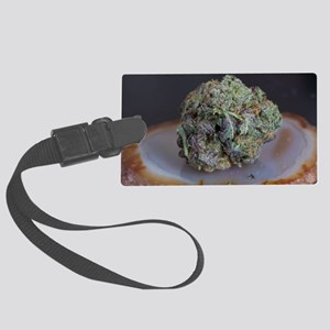 Grape Ape Medicinal Marijuana Luggage Tag