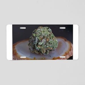 Grape Ape Medical Marijuana Aluminum License Plate