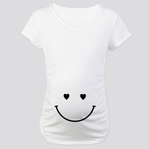 Smiling Belly Maternity T-Shirt
