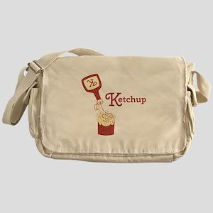 Ketchup On Fries Messenger Bag