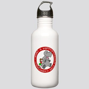 Hippopotamus for Chris Stainless Water Bottle 1.0L