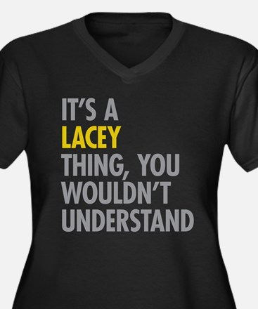 Lacey Thing Plus Size T-Shirt
