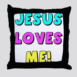 Jesus Loves Me! Throw Pillow
