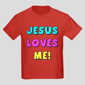 Jesus Loves Me! Kids Dark T-Shirt