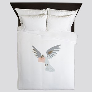 Carrier Pigeon Queen Duvet
