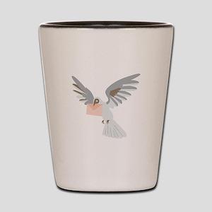 Carrier Pigeon Shot Glass