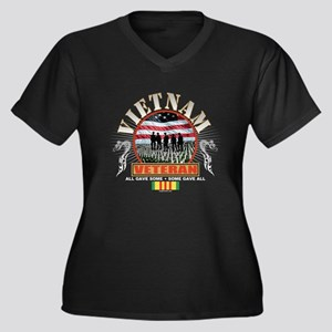 Vietnam Veteran Plus Size T-Shirt