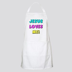 Jesus Loves Me! BBQ Apron
