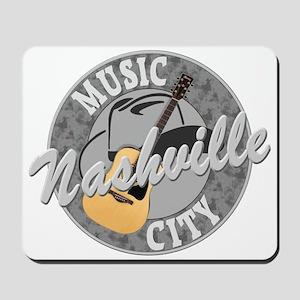 Nashville Music City-08-Dk Mousepad
