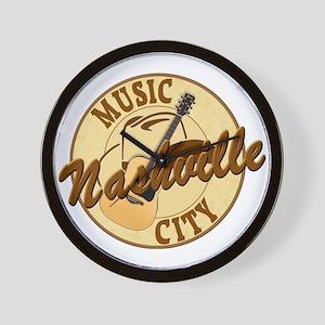 Nashville Music City-LT-8 Wall Clock