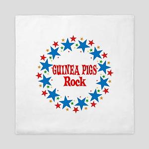 Guinea Pigs Rock Queen Duvet