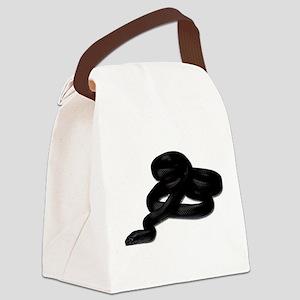 King Snake Canvas Lunch Bag