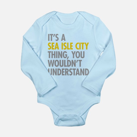 Sea Isle City Thing Body Suit