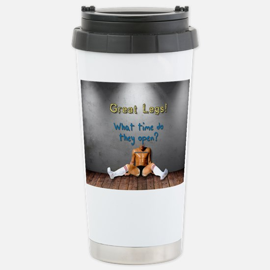 Cute Open legs Travel Mug