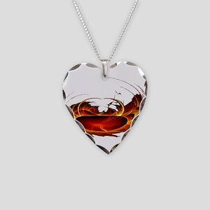 Polar Heat Necklace Heart Charm