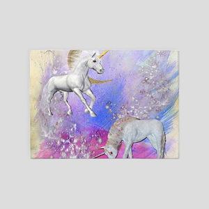 Unicorn Fantasy Sky 5'x7'Area Rug