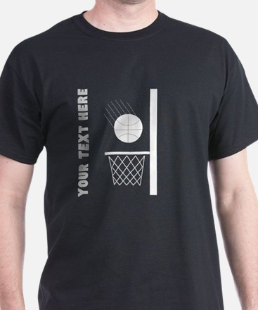 Basketball Hoop (Custom) T-Shirt