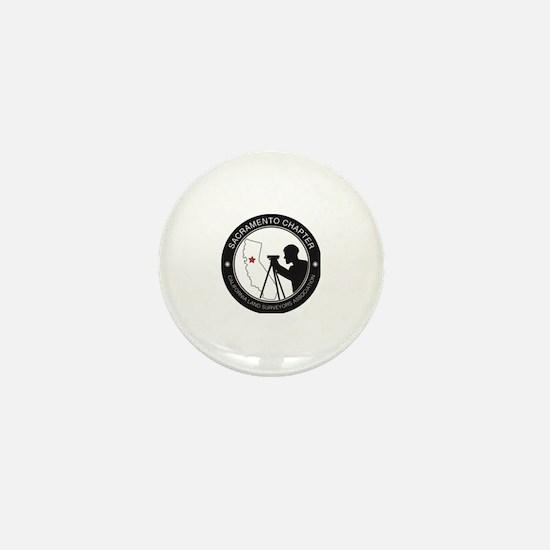 Cute Land surveyor Mini Button