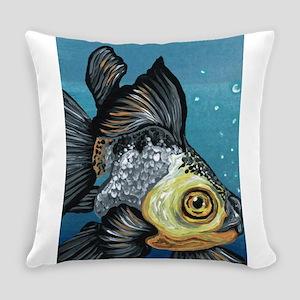 Panda Goldfish Everyday Pillow