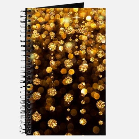 Gold Sparkles Journal