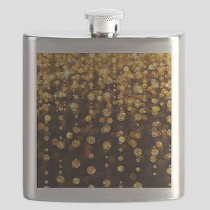 Gold Sparkles Flask