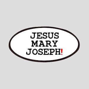 JESUS MARY JOSEPH! Patch