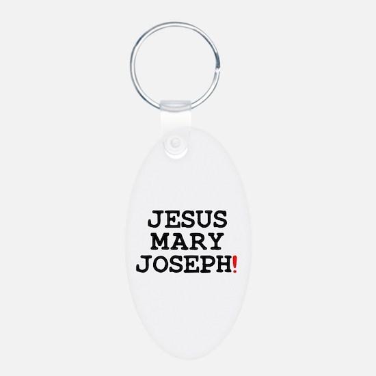 JESUS MARY JOSEPH! Keychains