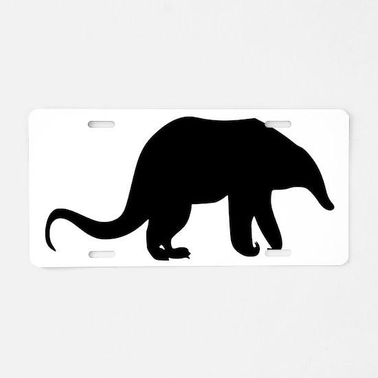Anteater Aluminum License Plate