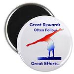Gymnastics Magnet - Rewards