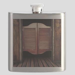 Wild West Saloon Door Flask