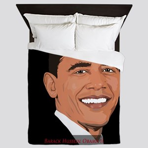 President Barack Obama Queen Duvet