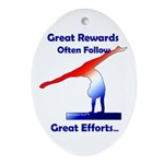 Gymnastics Ornament - Rewards