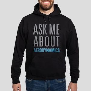 Ask Me About Aerodynamics Hoodie (dark)