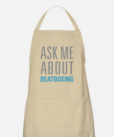 Ask Me About Beatboxing Apron