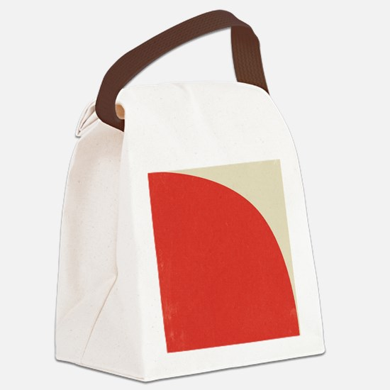 Cool Contemporary Canvas Lunch Bag