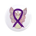Purple Awareness Ribbon Angel 3.5