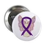 Purple Awareness Ribbon Angel 2.25