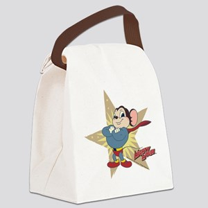 Mighty Mouse: Vintage Star Canvas Lunch Bag