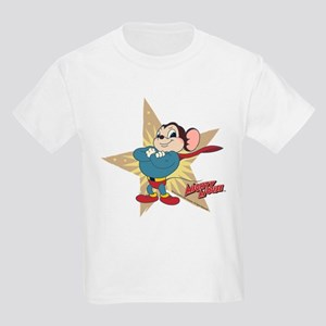 Mighty Mouse: Vintage Star Kids Light T-Shirt