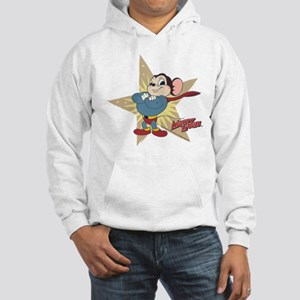 Mighty Mouse: Vintage Star Hooded Sweatshirt