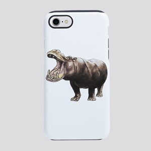 hippopotamus iPhone 8/7 Tough Case