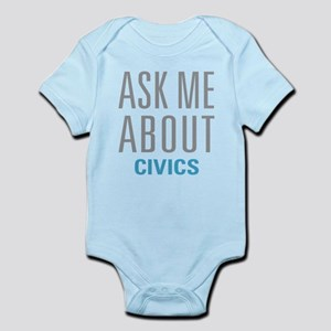 Ask Me About Civics Body Suit