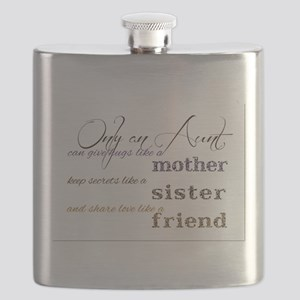 Only Aunts can give hugs like an Aunt in cur Flask