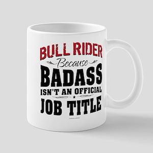 Badass Bull Rider Mugs