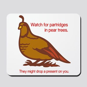 Partridge Mousepad