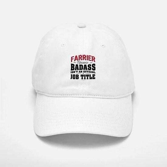 Badass Farrier Baseball Baseball Cap